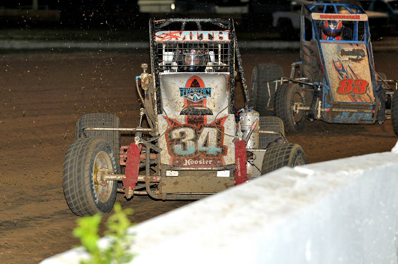 Ryan Smith took the ARDC Midget win on the quarter-mile.
