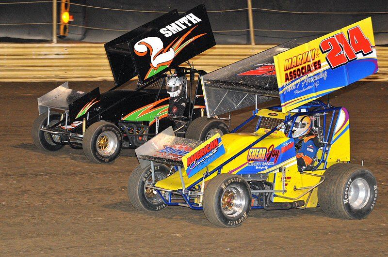 The TSRS Sprints made their 2010 debut at New Egypt on Saturday.